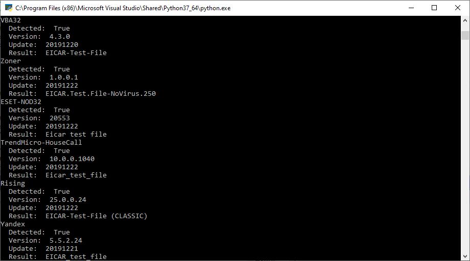 Тотальная проверка. Используем API VirusTotal в своих проектах