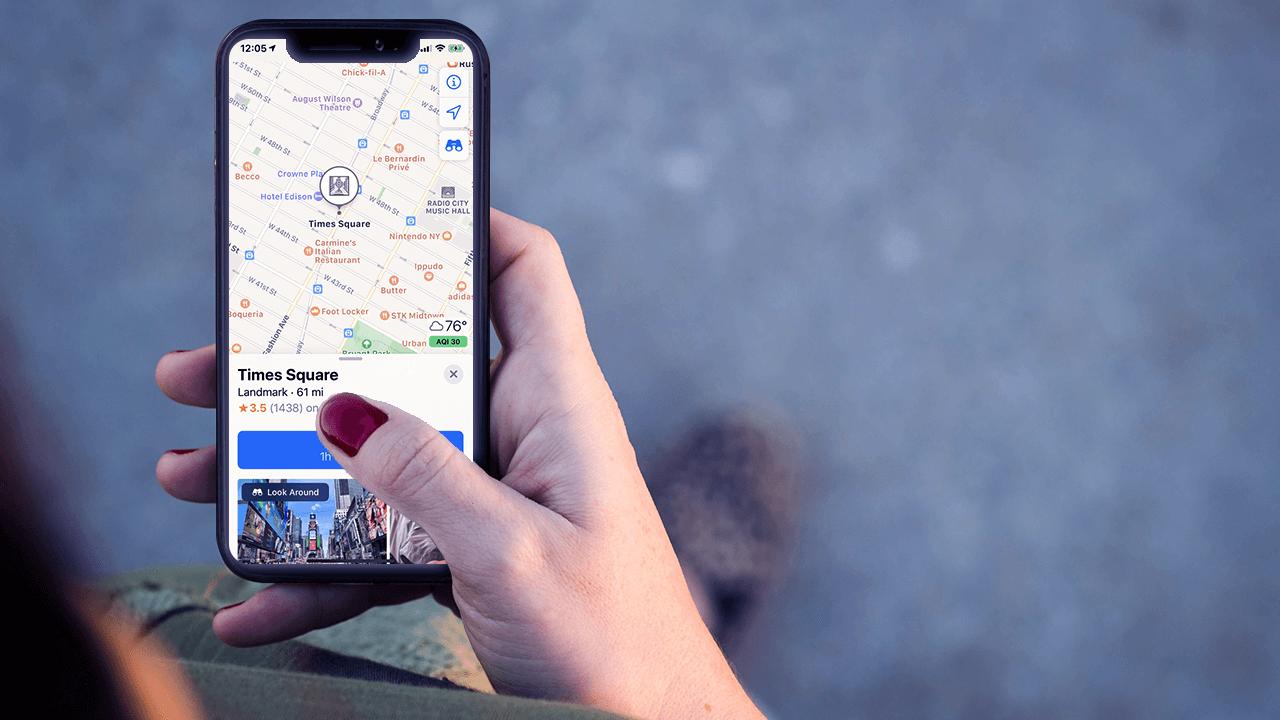 Apple представила обновление Apple Maps в США. В Европе — в 2020 году
