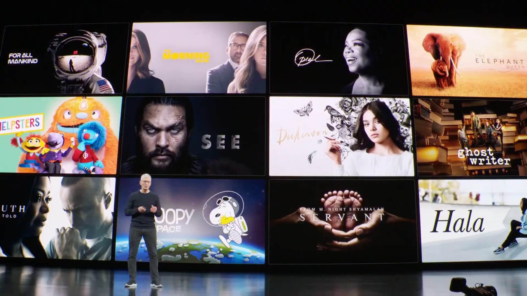 Почему в Apple TV+ есть только эксклюзивные фильмы и сериалы