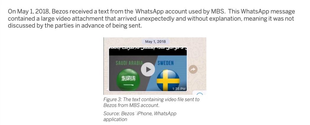 Смартфон Джеффа Безоса был взломан после WhatsApp-сообщения от принца Саудовской Аравии