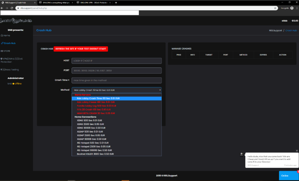 Ubisoft подала в суд на операторов нескольких сервисов для DDoS-атак