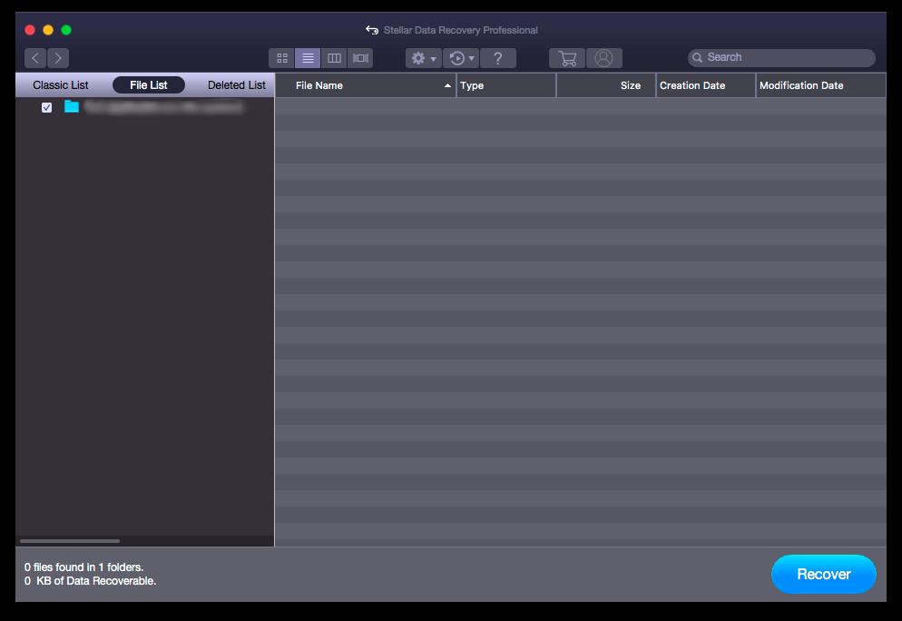 Как восстановить удаленные файлы с Mac
