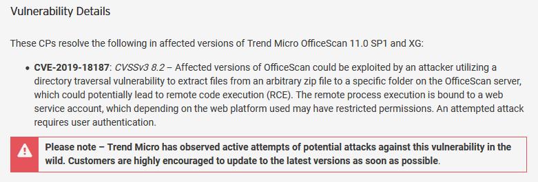 СМИ: для атаки на Mitsubishi Electric использовали 0-day в Trend Micro OfficeScan