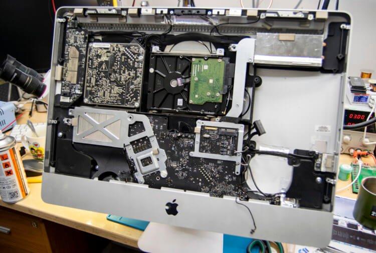 С этой проблемой может столкнуться каждый владелец iMac