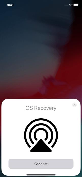 В iOS 13.4 появилась функция восстановления ОС по воздуху. Но она пока не работает