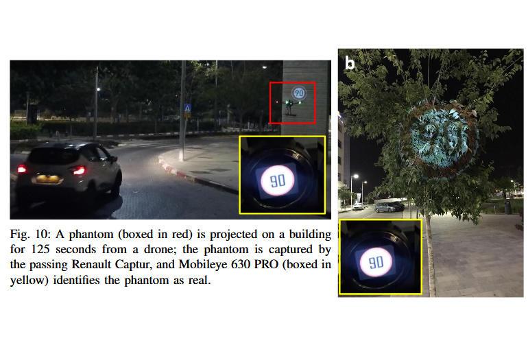 Эксперты обманули автопилот Tesla при помощи проектора за 300 долларов