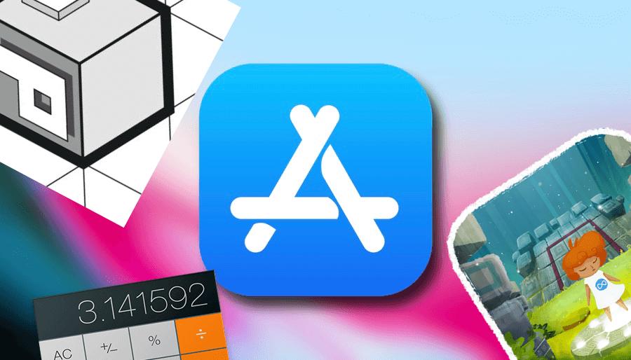 Калькулятор для всего и самая красивая головоломка? Скидки в App Store