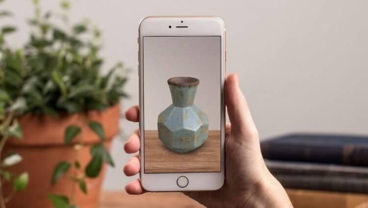 Дополненная реальность от Apple пришла в магазины