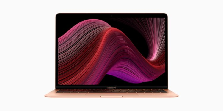Apple представила новый MacBook Air 2020 с клавиатурой «ножницы». Он в 2 раза мощнее старого