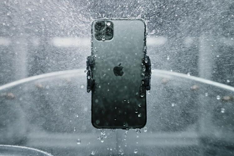Сколько iPhone 11 Pro может продержаться под водой?