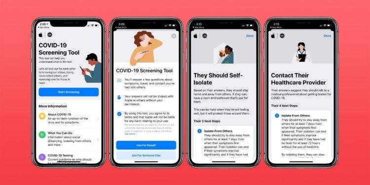 Как Apple может контролировать соблюдение карантина