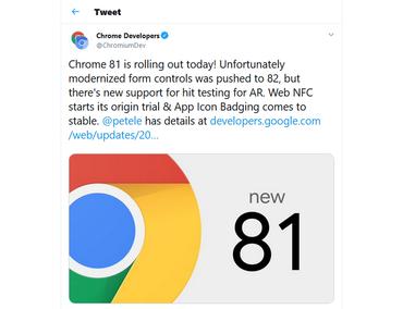 Новые релизы Chrome задерживаются из-за коронавируса