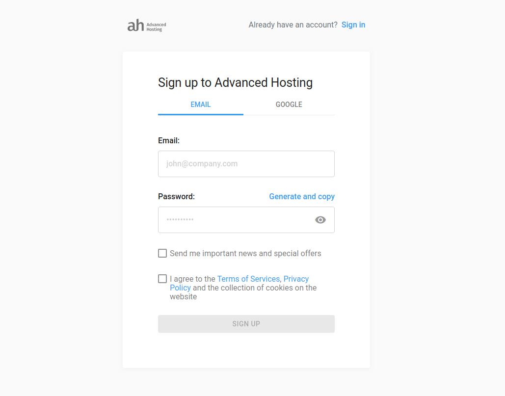 Облачная платформа Advanced Hosting — мощные серверы по низкой цене