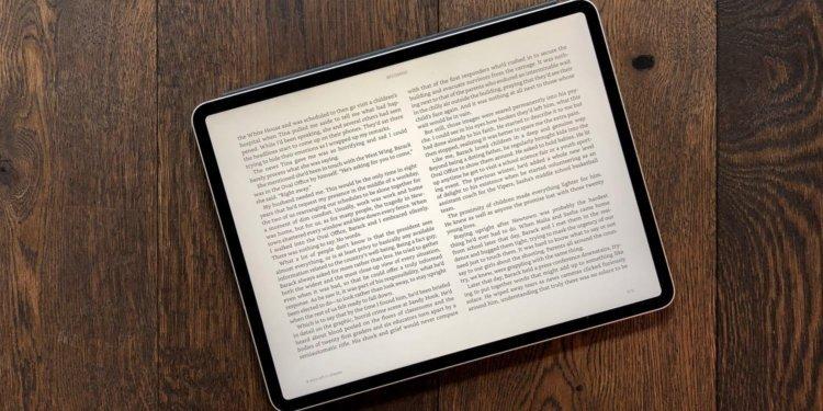 Как и чем я читаю книги на своём iPad