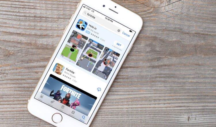 В российском App Store скоро появится реклама прямо в поиске