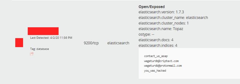 Неизвестные дефейснули и стерли данные с 15 000 серверов Elasticsearch
