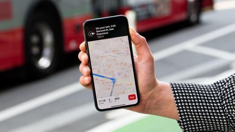 Новый сервис Apple определяет, сколько людей на улице