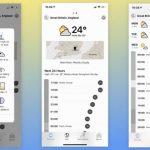 Как может выглядеть приложение погода в iOS 14