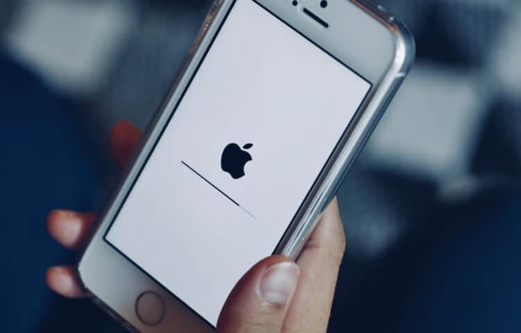 Новый символ смерти для iOS вызывает полное зависание iPhone