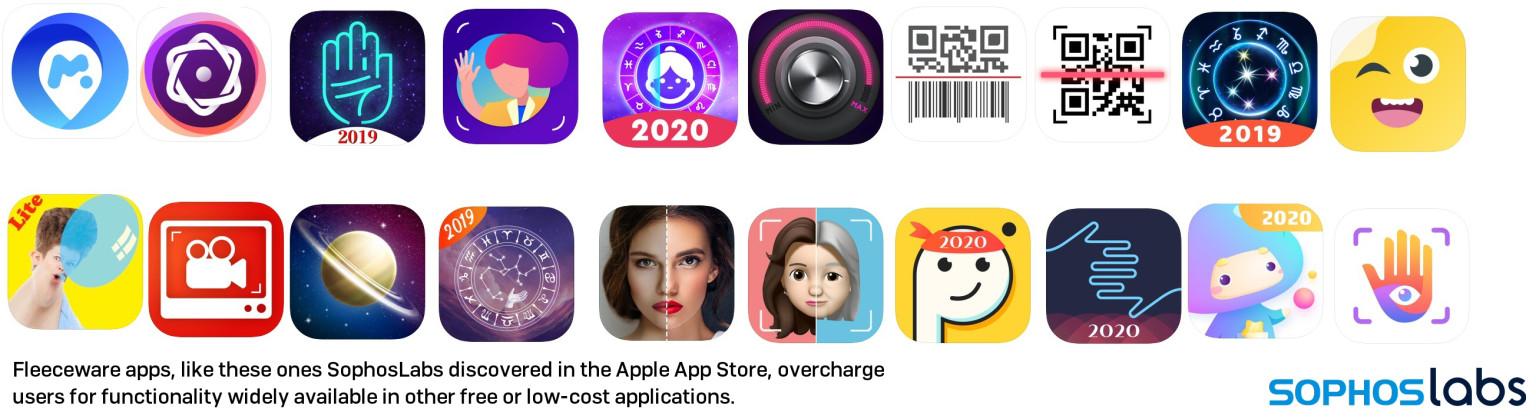 Более 3,6 млн пользователей загрузили fleeceware-приложения из Apple App Store