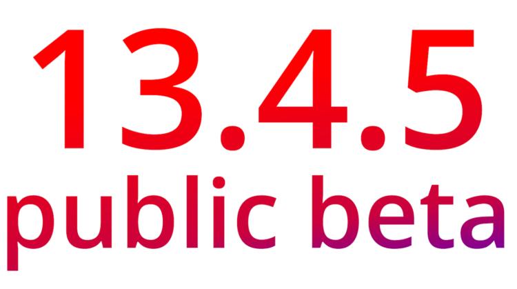 Apple выпустила iOS 13.4.5 beta 1 для всех