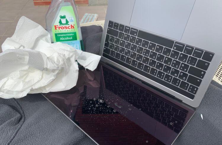 Как и чем нужно чистить экраны iPhone, iPad, MacBook и других устройств