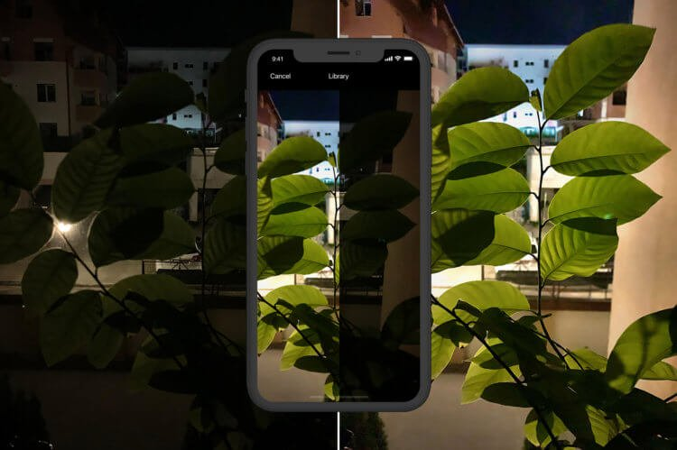 Как добавить ночной режим съемки на любой iPhone