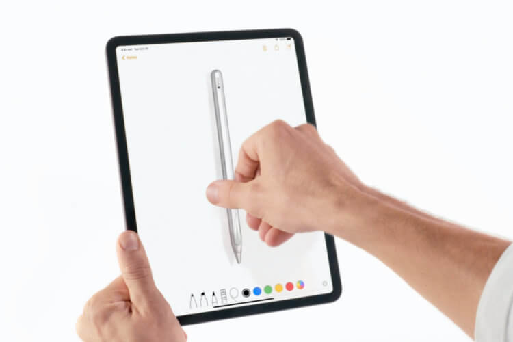 Новый Apple Pencil сможет рисовать прямо на вашем столе