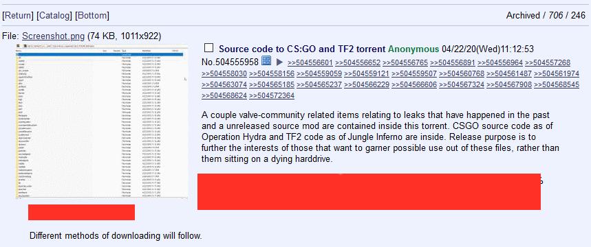 Утекли исходные коды CS:GO и Team Fortress 2. Valve уверяет, что волноваться не о чем