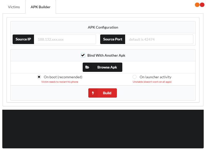 AhMyth. Создаем RAT для Android с помощью простого конструктора