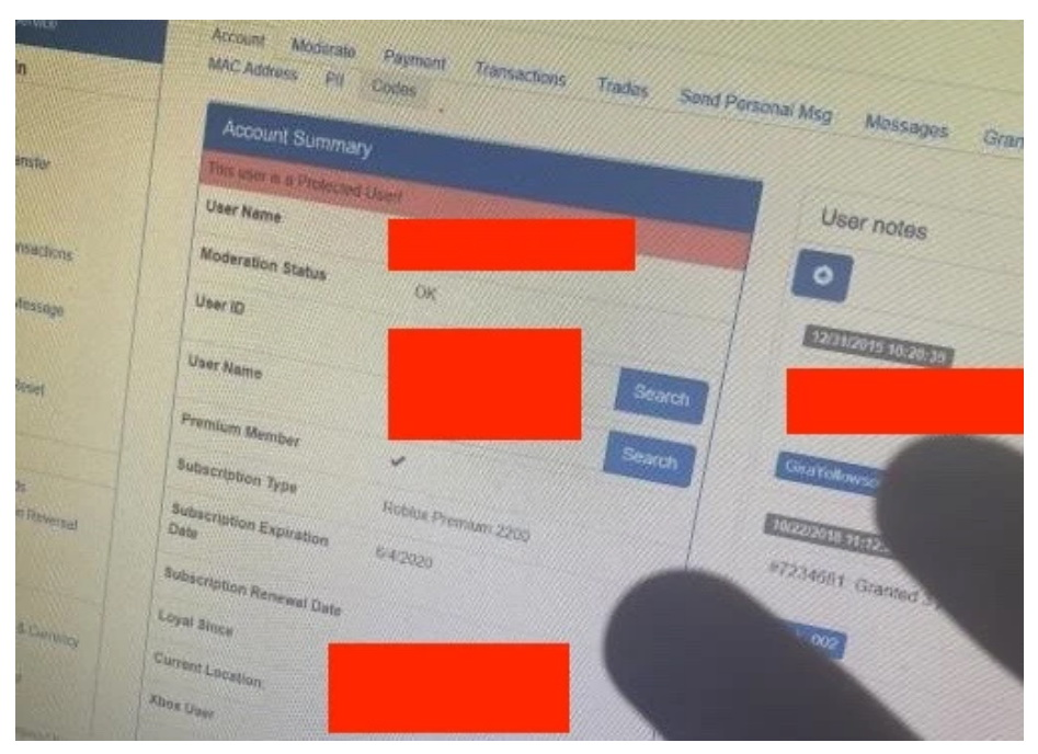 Злоумышленник подкупил сотрудника Roblox, чтобы получить данные пользователей