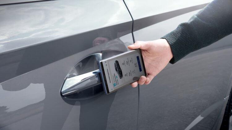 Apple получила разрешение на запуск NFC-ключа для машины в iOS