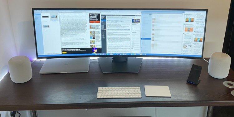 Dell UltraSharp 49 — идеальный монитор для MacBook Pro?