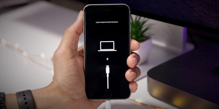 Как ввести iPhone и iPad в режим восстановления и в DFU