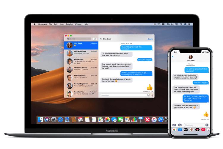 Apple заменит «Сообщения» на Mac новым приложением из iOS 14