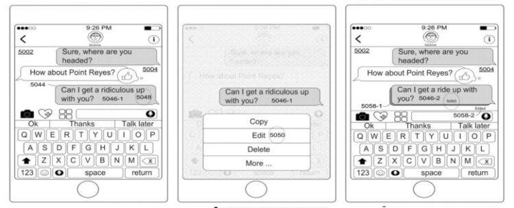 Apple показала функцию редактирования сообщений в iMessage