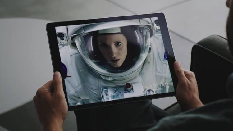 Apple хочет превратить iPad в кинотеатр — у него будет 8 динамиков