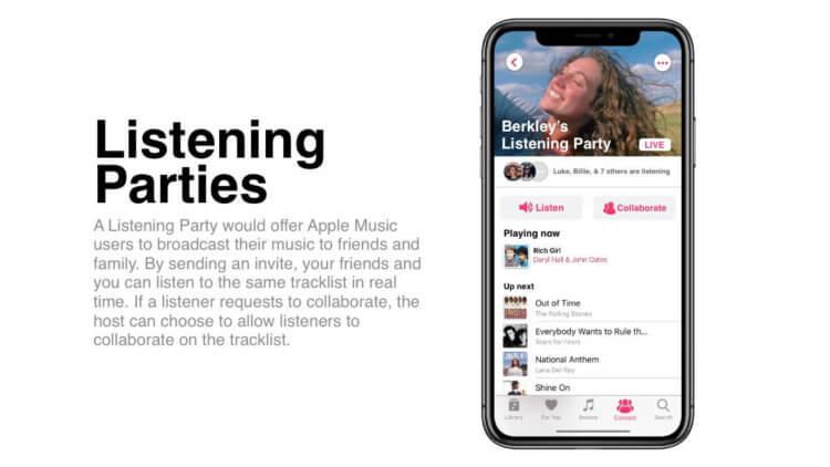 Новый дизайн и общие плейлисты: как может выглядеть Apple Music в iOS 14