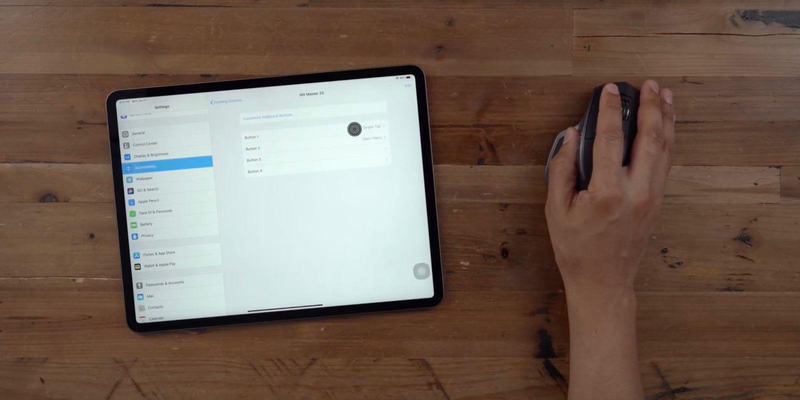 Курсор в iPad скоро будет работать еще лучше