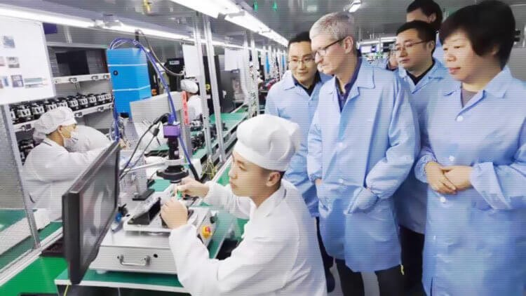 Почему Apple бежит из Китая и что всё это значит