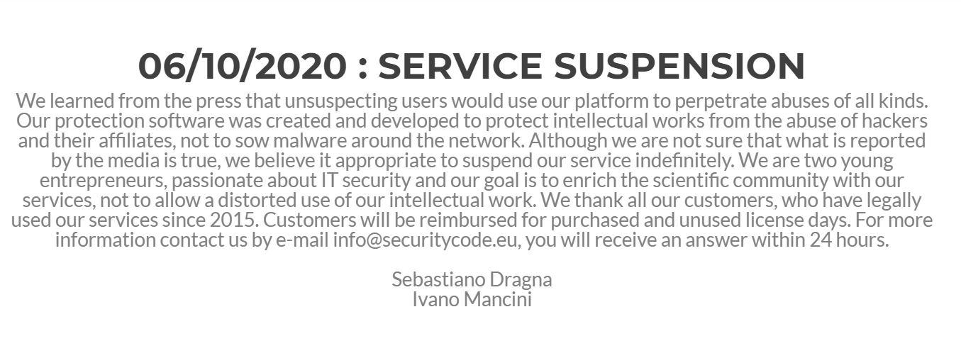 Итальянская компания заработала больше 500 000 долларов, работая с операторами шифровальщиков