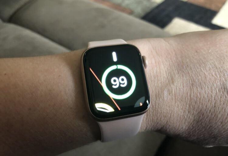 Увеличился экран на Apple Watch — как отключить?