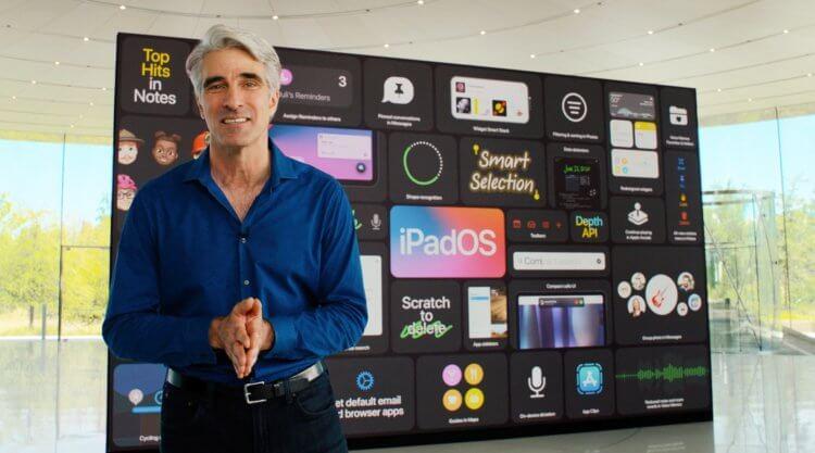 Крейг Федериги объяснил, почему на iPad нет приложения «Калькулятор»