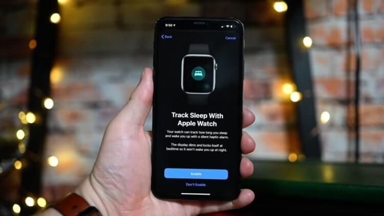 В Apple рассказали, как Apple Watch будут отслеживать качество сна