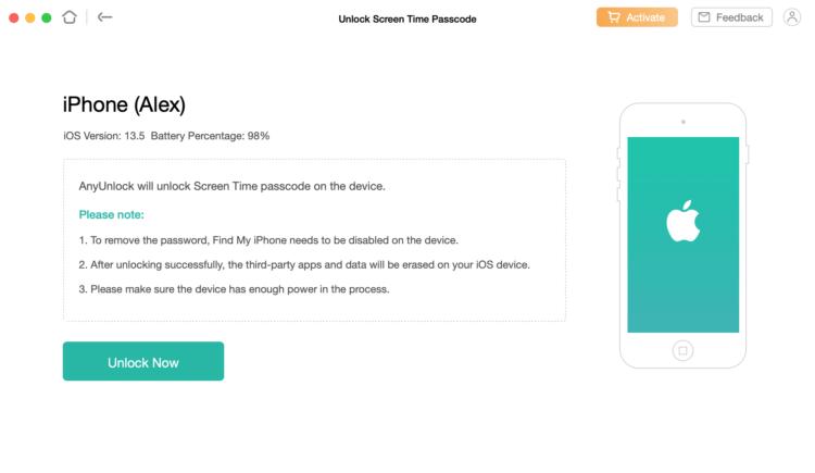 AnyUnlock — новое приложение для сброса паролей iPhone