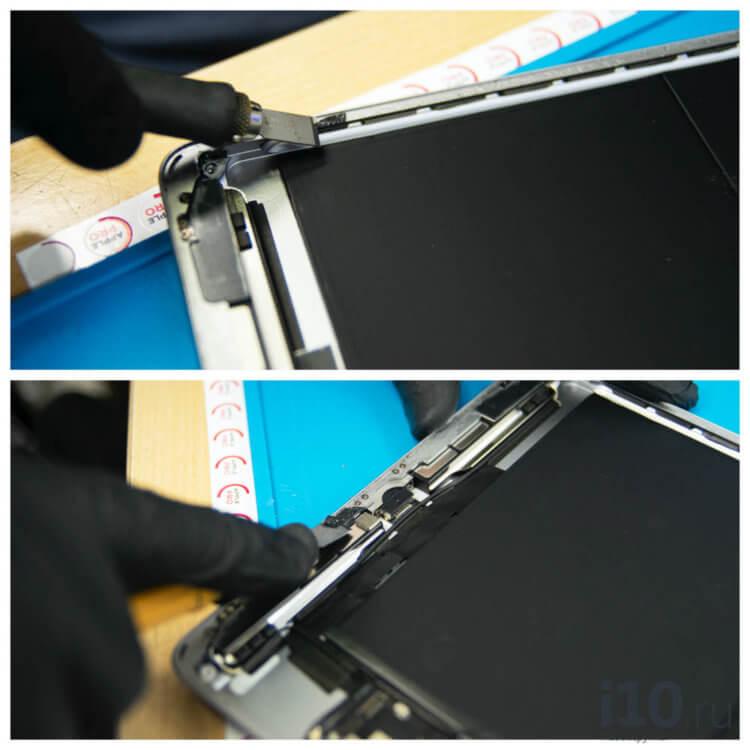 Разбили iPad? Не спешите менять весь дисплей
