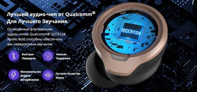 Это новый конкурент AirPods Pro за 9 000 рублей с гибридным шумоподавлением