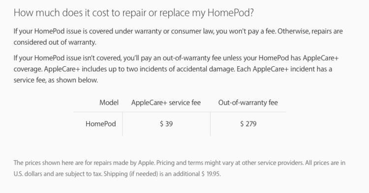 Apple, что за дичь? Купить новый HomePod дешевле, чем ремонтировать старый